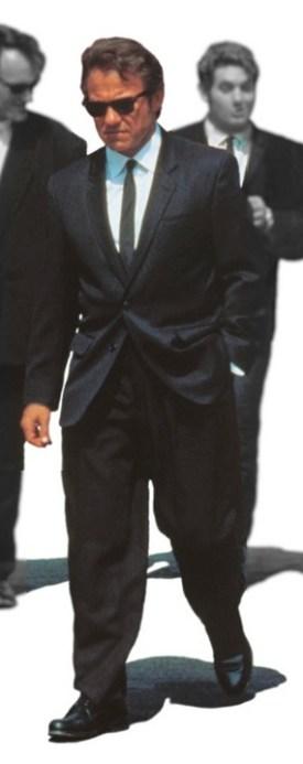 Harvey Keitel as Mr. White in Reservoir Dogs (1992).