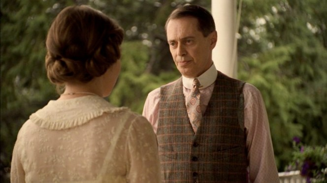 Nucky, unknowingly on the verge of knighthood.