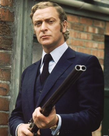 Michael Caine as Jack Carter in Get Carter (1971).
