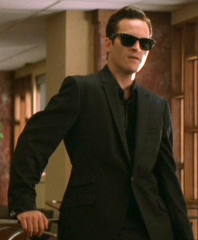 Joaquin Phoenix as Johnny Cash in Walk the Line (2005).