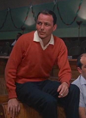 Frank Sinatra as Danny Ocean in Ocean's Eleven (1960)