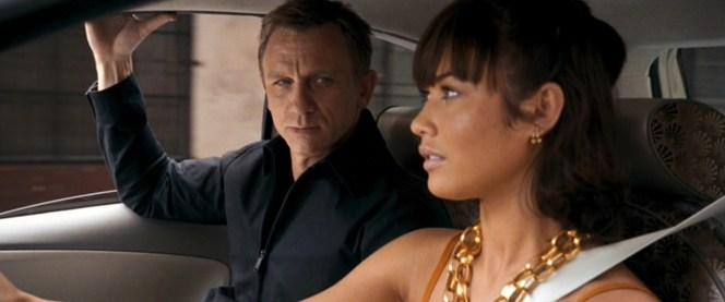 Bond meets Camille.