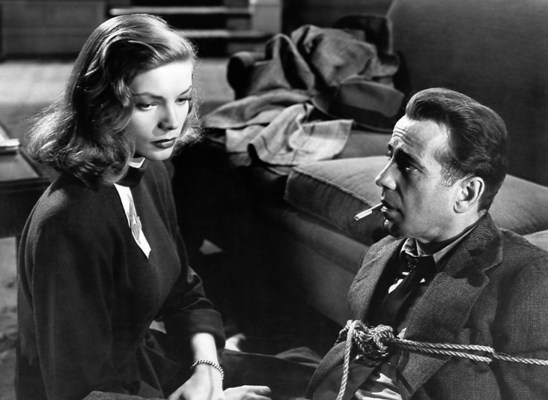 "For a 20-year-old relatively inexperienced actress who described herself as ""scared to death"", Lauren Bacall did one hell of a great job."