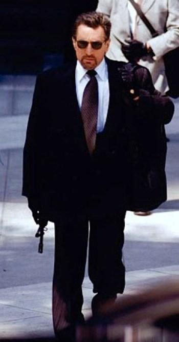 Robert De Niro as Neil McCauley in Heat (1995)