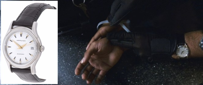 The Hamilton is Danny's primary watch throughout Ocean's Eleven.