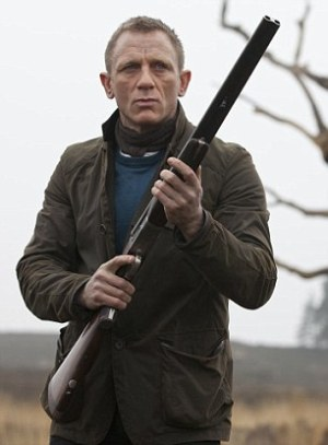 Daniel Craig as James Bond in Skyfall (2012).