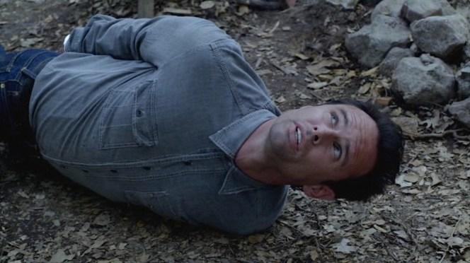 "Boyd finds himself in a tight spot in ""Veterans"" (Episode 1.11)."