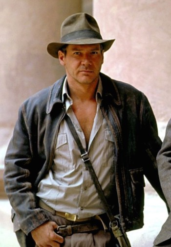 Harrison Ford as Indiana Jones in Indiana Jones and the Last Crusade (1989).