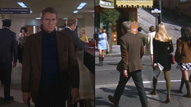 Bullitt's investigation takes him all over San Francisco.