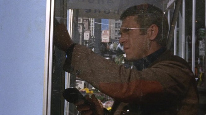 You should expect that a guy named Bullitt would wear a shooting jacket, right?