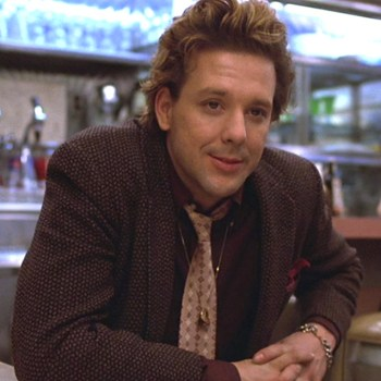 "Mickey Rourke as ""Boogie"" in Diner (1982)."
