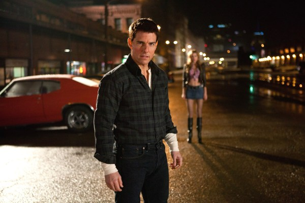 Reacher stands victorious after a brawl set on the South Side (but filmed in the Strip District!)