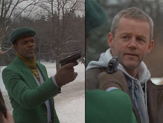 I feel like David Morse is probably a nice guy in real life, but damn if he didn't expertly corner the market on playing smug assholes in '90s action movies.