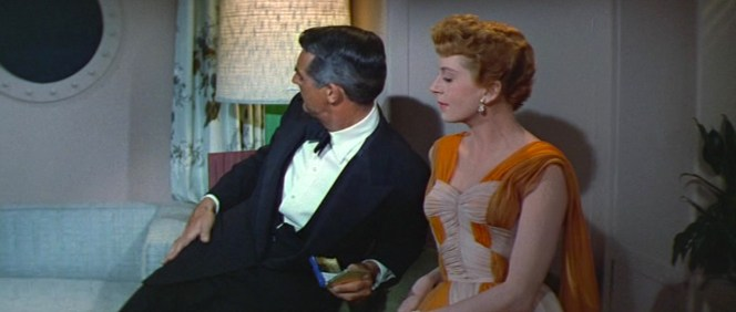 Although smoking is a frequent motif in An Affair to Remember, it was while filming this movie that Cary Grant eventually dropped his sixty-a-day cigarette habit that he had developed since he was 7 years old. (Yes, 7!)
