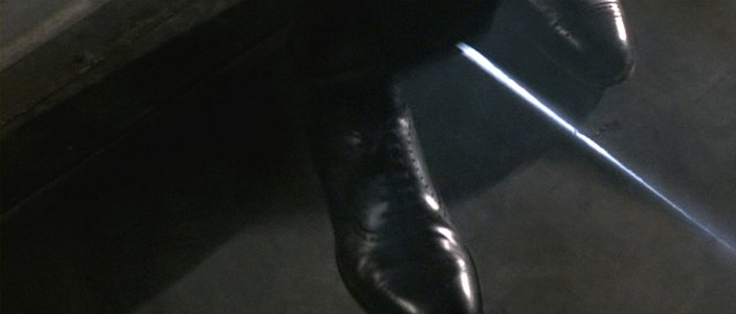 Bond wears a pair of groundbreaking Church's Diplomat semi-brogues. (Do you get it please?)