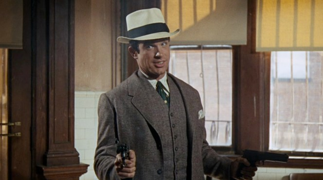 Warren Beatty as Clyde Barrow in Bonnie and Clyde (1967)
