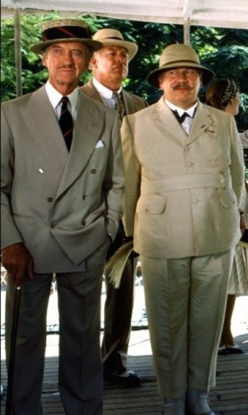 David Niven, George Kennedy, and Peter Ustinov in Death on the Nile (1978)