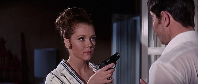 Gunplay is evidently Tracy's idea of foreplay.