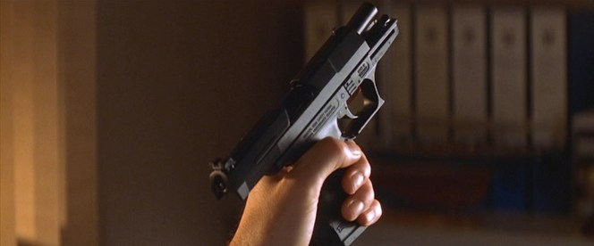 Bond's Walther P99.