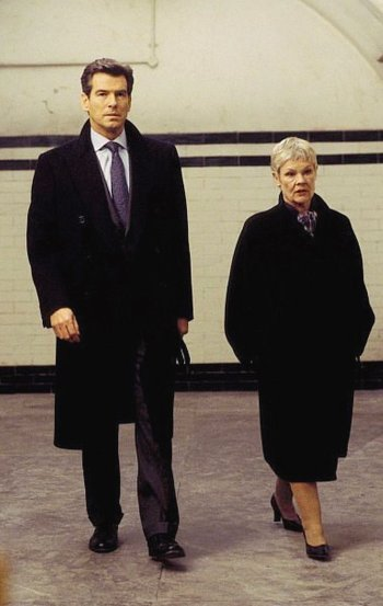 Pierce Brosnan and Judi Dench in Die Another Day (2002)