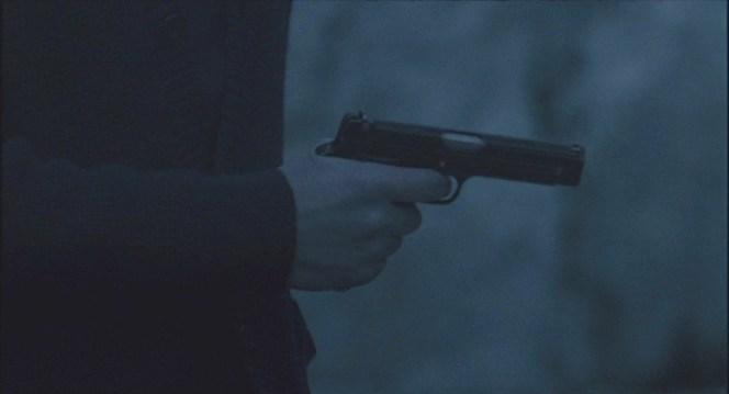 Jardie draws his pistol.