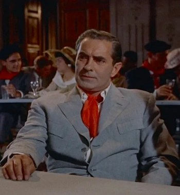 Tyrone Power as Jake Barnes in The Sun Also Rises (1957)