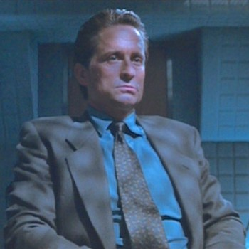 Michael Douglas as Nick Curran in Basic Instinct (1992)