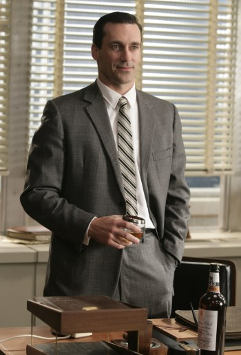 Jon Hamm as Don Draper on Mad Men (2007-2015)