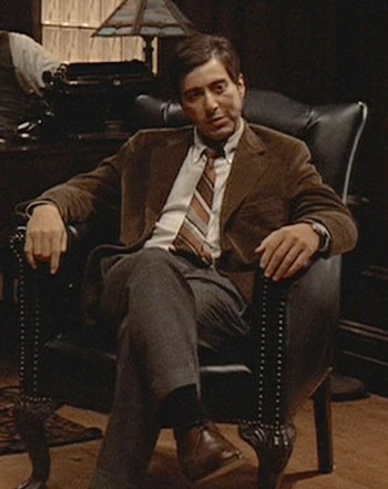 Al Pacino as Michael Corleone in The Godfather (1972)