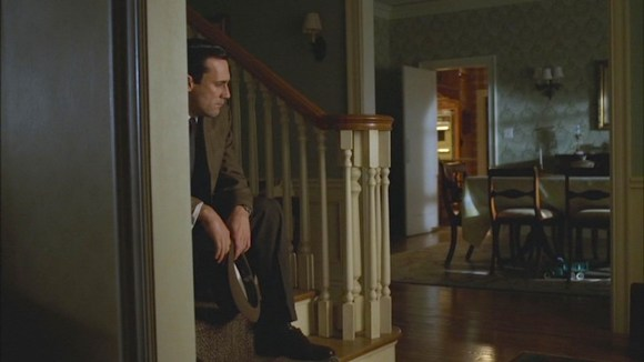 "Don, home alone and desperate for the family surroundings he had previously taken for granted. (Episode 1.13: ""The Wheel"")"