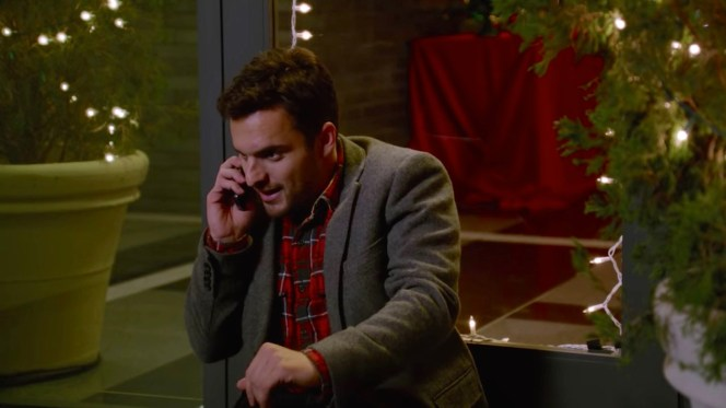 Nick takes a poorly timed phone call from his mom.