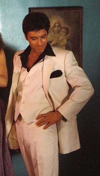 Al Pacino as Tony Montana in Scarface (1983)