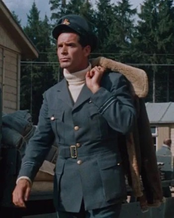 James Garner as Flight Lieutenant Hendley in The Great Escape (1963)