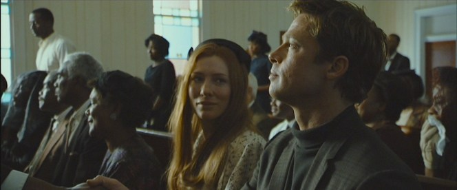 Benjamin and Daisy at Queenie's funeral.