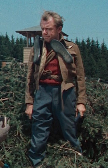 Angus Lennie as Flying Officer Archibald Ives in The Great Escape (1963)