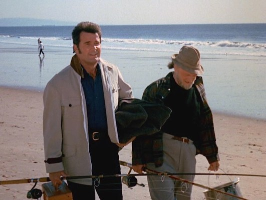 Rocky is so disappointed that Jim can't go fishing with him that he completely changes his appearance for the rest of the series.