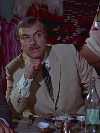 Pedro Armendáriz as Kerim Bey in From Russia With Love (1963)