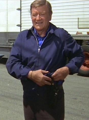 John Wayne as Lon McHugh in McQ (1974)