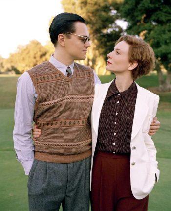 Leonardo DiCaprio and Cate Blanchett in The Aviator (2004). Photo by Andrew Cooper.