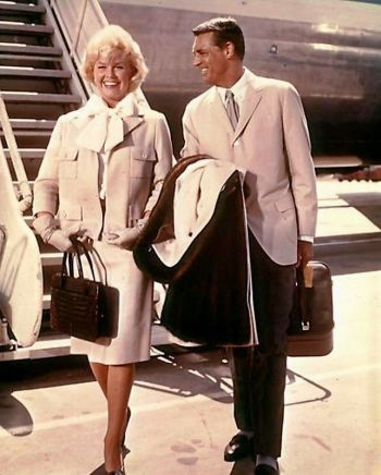 Cary Grant and Doris Day in That Touch of Mink (1962)