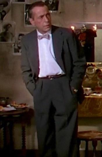 Humphrey Bogart as Harry Dawes in The Barefoot Contessa (1954)
