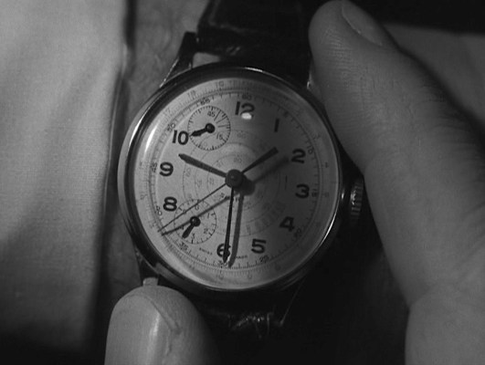 """Note where the watchmaker's name was """"scrubbed"""" from the dial. Both Endura and Rego watches placed their brand name here."""