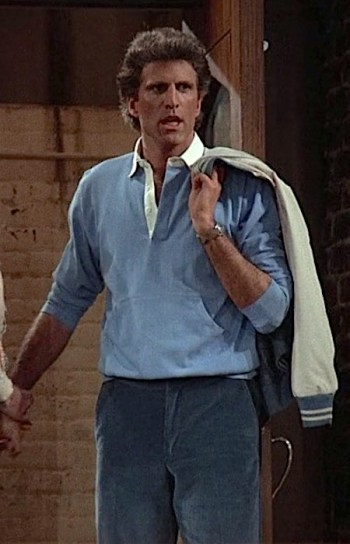 "Ted Danson as Sam Malone on Cheers (Episode 1.22: ""Showdown, Part 2"")"