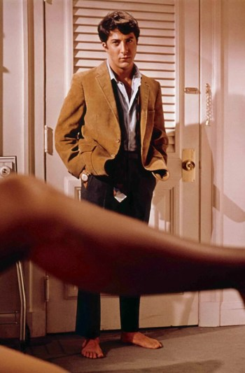 Dustin Hoffman as Benjamin Braddock in The Graduate (1967)