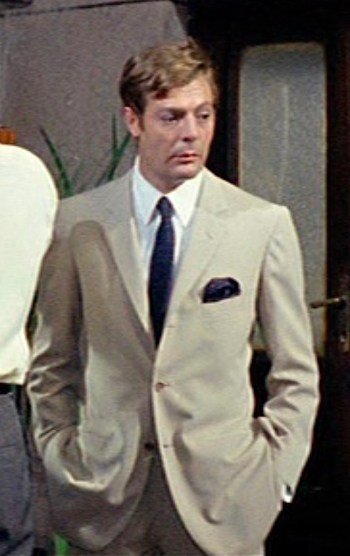 Marcello Mastroianni as Augusto Rusconi in the third and final segment of Yesterday, Today and Tomorrow (Ieri, oggi, domani) (1963)