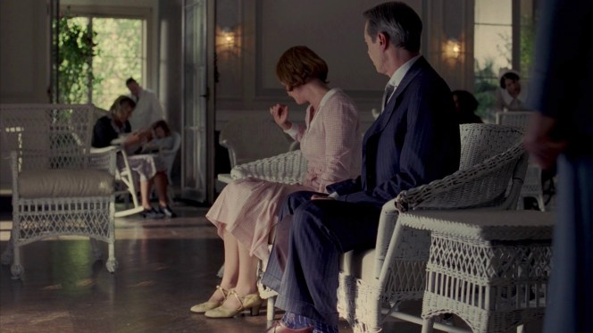 Hoping for closure, Nucky is dismayed to find Gillian far more intrigued by an errant ladybug.