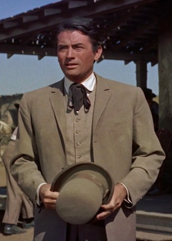 Gregory Peck as Jim McKay in The Big Country (1958)