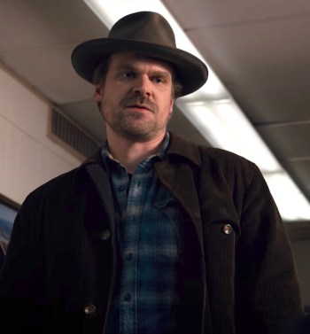 "David Harbour as Jim Hopper on Stranger Things (Episode 1.07: ""The Bathtub"")"