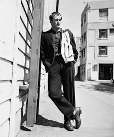Marlon Brando, photographed by Virgil Apger, September 17, 1952.