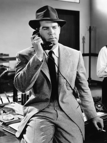 Fred MacMurray as Walter Neff in Double Indemnity (1944)